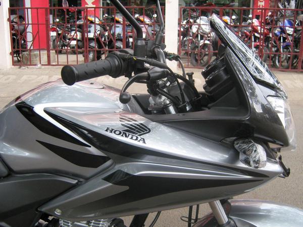 side shot of bike fairing