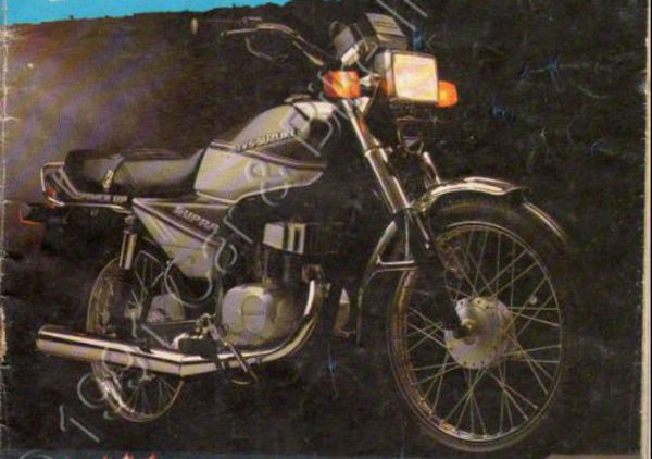 Front side shot of the bike
