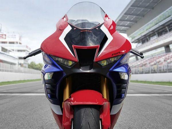 Front angle of the Honda CBR1000RR Fireblade